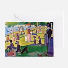 Bag Seurat Jatte Greeting Card