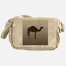 camel53Sq Messenger Bag
