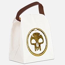 BlackMana.gif Canvas Lunch Bag