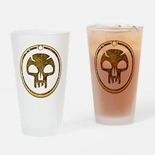BlackMana.gif Drinking Glass