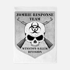 Zombie Response Team Winston-Salem Twin Duvet