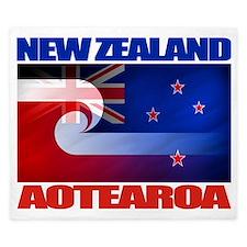 NZ-Aotearoa Flag King Duvet