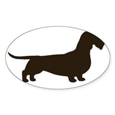 wirehaireddoxiechocrght Decal
