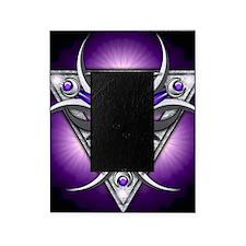 Triple Goddess - purple - square Picture Frame
