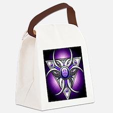 Triple Goddess - purple - stadium Canvas Lunch Bag