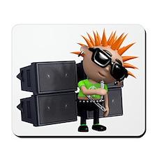 3d-punk-sing Mousepad
