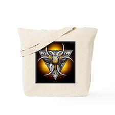 Triple Goddess - yellow - stadium blanket Tote Bag