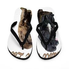 two newfslove Flip Flops