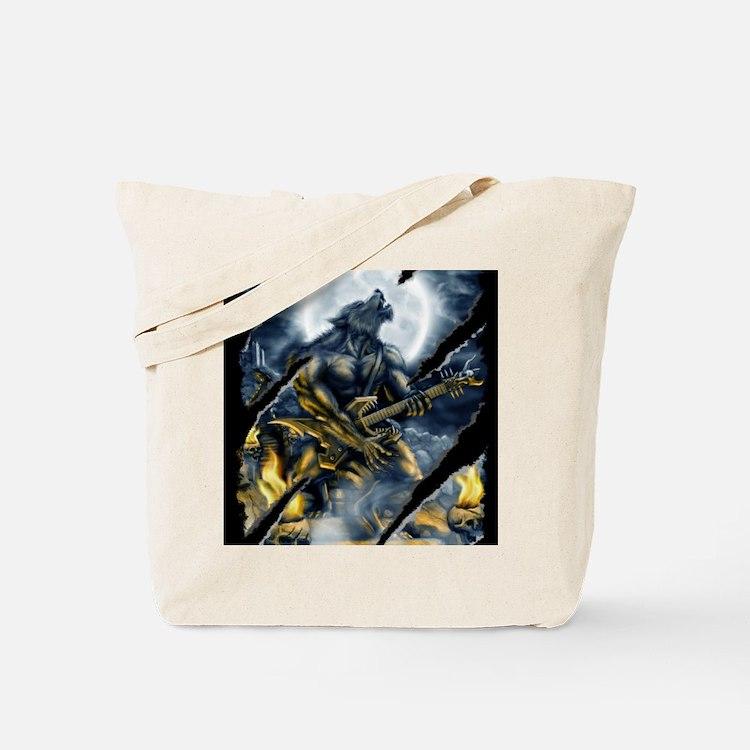 wolfshirt Tote Bag
