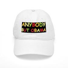 anti obama anybody but comic sansd Baseball Cap
