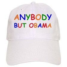 anti obama anybody but comic sansbump Baseball Cap