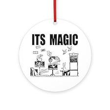 itsmagic2 Round Ornament