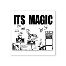 "itsmagic2 Square Sticker 3"" x 3"""