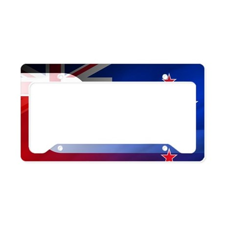 NZ-Aot (Laptop Skin) License Plate Holder