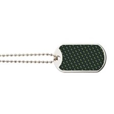Stylish Green Dog Tags