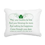 Irish blessings Rectangle Canvas Pillows