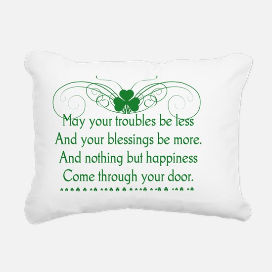 Irish Blessing 1 Rectangular Canvas Pillow