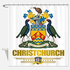 Christchurch (Flag 10) 2 Shower Curtain