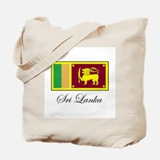 Sri Lanka - Flag Tote Bag