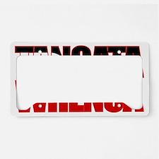 Tangata Whenua (fill) License Plate Holder