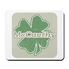 """Shamrock - McCarthy"" Mousepad"