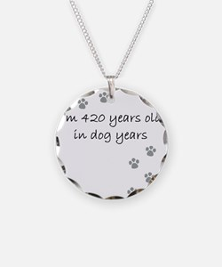 60 dog years 2-1 Necklace