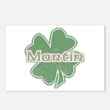"""Shamrock - Martin"" Postcards (Package of 8)"