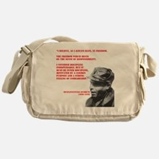 Buenaventura_durruti LARGE Messenger Bag