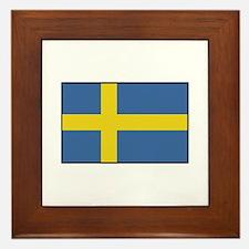 Sweden - Flag Framed Tile