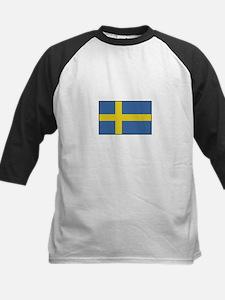 Sweden - Flag Kids Baseball Jersey