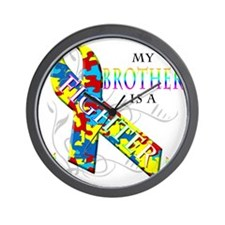 My Brother is a Fighter Wall Clock