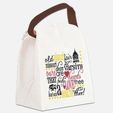 8x8hootgirljesse Canvas Lunch Bag