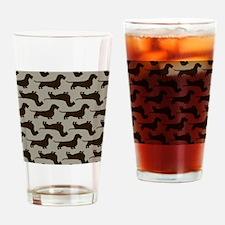 wirehairdoxiepillowPATTERN Drinking Glass