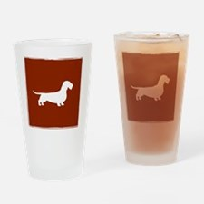 wiredoxiepillowred Drinking Glass