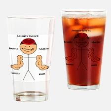 Jauntiness Drinking Glass