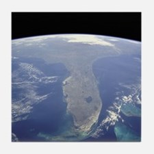 Florida_From_Space2 Tile Coaster