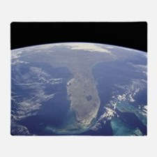 Florida_From_Space2 Throw Blanket