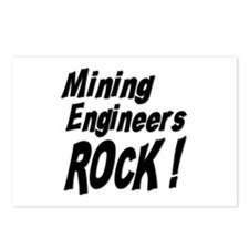 Mining Engineers Rock ! Postcards (Package of 8)