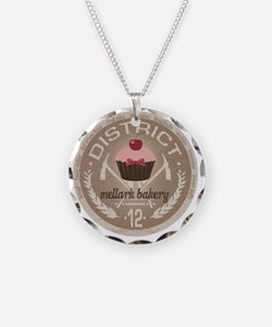 district 12 mellark bakery u Necklace