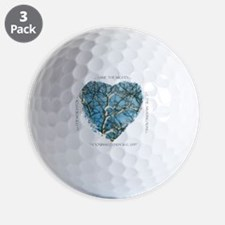 Branches of Love finish Golf Ball