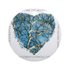 Branches of Love finish Round Ornament
