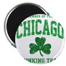 Chicago Drinking Magnet