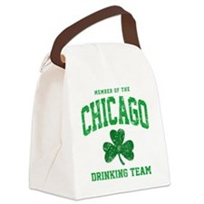 Chicago Drinking Canvas Lunch Bag