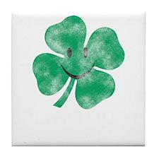 clover-irish today -2 Tile Coaster