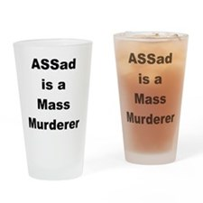assadmurderer Drinking Glass