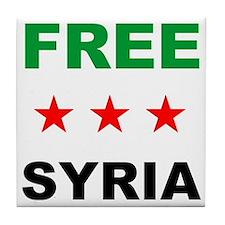 free syria Tile Coaster