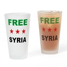 free syria Drinking Glass