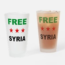free syria Drinking Glass