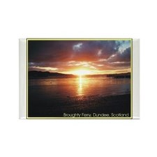 Broughty Ferry Rectangle Magnet