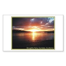 Broughty Ferry Rectangle Decal